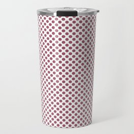 Rose Wine Polka Dots Travel Mug