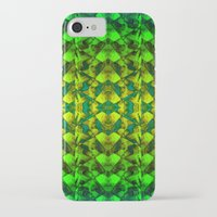 green pattern iPhone & iPod Cases featuring Green pattern. by Assiyam