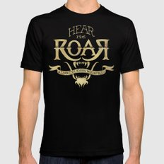 Game of Type Mens Fitted Tee Black LARGE
