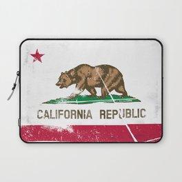 CALIFORNIA FLAG Laptop Sleeve