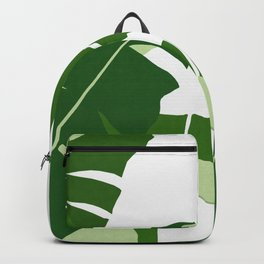 Watercolor tropical leaf XIV Backpack