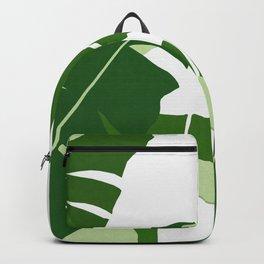 Watercolor tropical leaf XIV Backpack