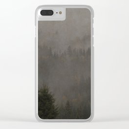 Forest of My Heart Clear iPhone Case