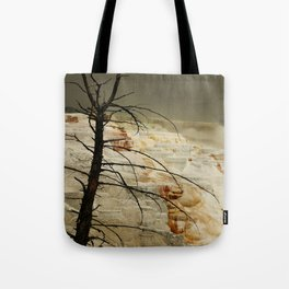 The Beauty Of A Travertine Terrace Tote Bag