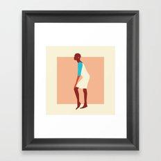 Fashion Dance 4 Framed Art Print