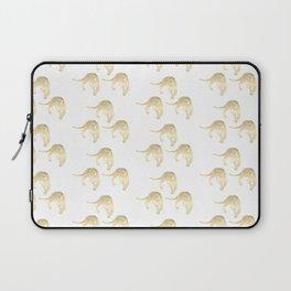 Gold Leopard Laptop Sleeve