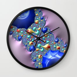 Foreverness Of Fractals 01 Wall Clock