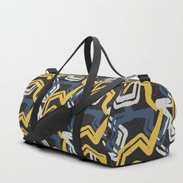 Mustard lines Duffle Bag