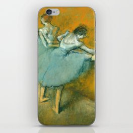 Degas Painting - Dancers at the Barre, 1900 iPhone Skin