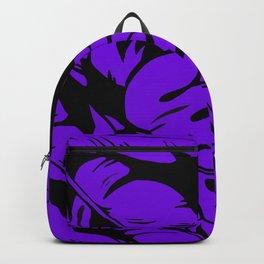 PALM LEAF PURPLE Backpack
