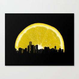 super lemon Canvas Print