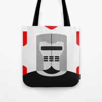 knight Tote Bags featuring Knight by Vipes