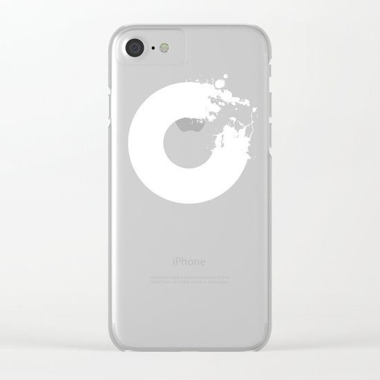 incomplete Clear iPhone Case