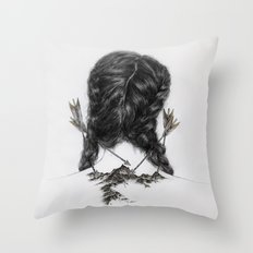 Insecurities Throw Pillow