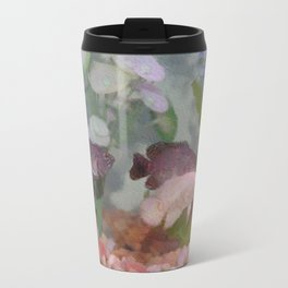 Four Oscars swimming in an aquarium (Painted) Travel Mug