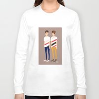 tegan and sara Long Sleeve T-shirts featuring Tegan and Sara: TnS #1 by Cas.