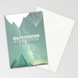 Outdoor Experience Stationery Cards