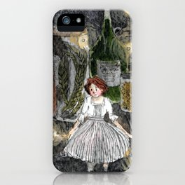 Little Night Person iPhone Case