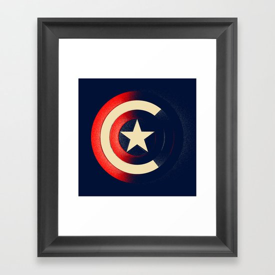 Captain Framed Art Print