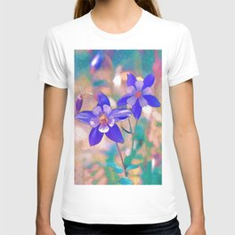 Colorado Columbine Flower T-shirt
