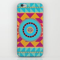 art deco iPhone & iPod Skins featuring Deco Art by MadTee