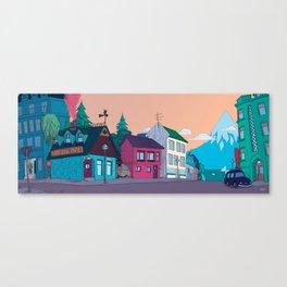 Strange Neighborhood Canvas Print