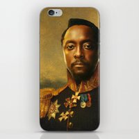 replaceface iPhone & iPod Skins featuring will.i.am - replaceface by replaceface