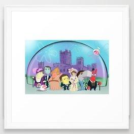Downton Abbey Under the Sea Framed Art Print