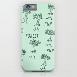 Run Forest Run iPhone Case