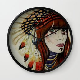 I wanna be an indian Wall Clock