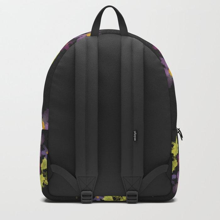Flower mosaic flower 1 Backpack