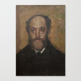 Portrait of the Art Critic Durand-Gréville Canvas Print