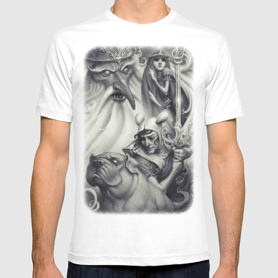 Another Castle :: Duotone Print T-shirt