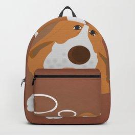 Dog dreaming about bonelet Backpack