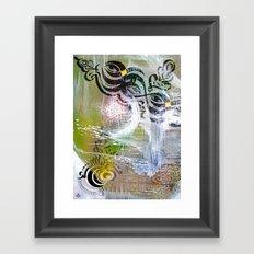 Eye & I Framed Art Print