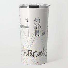 The Interwebs!     By Sisley Leung Travel Mug
