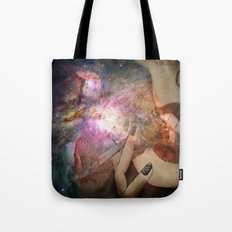 Galaxies Tote Bag