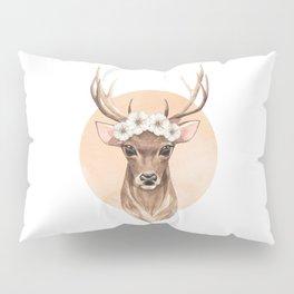 Spring deer Pillow Sham