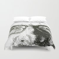 heisenberg Duvet Covers featuring Heisenberg by josie leigh
