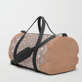 EARTH COLORS MANDALA Duffle Bag