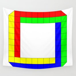 Penrose Square Stroked Wall Tapestry