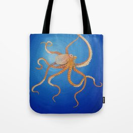 Octopus, Oil Painting by Faye Tote Bag
