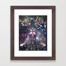 Seaweeds & Me Framed Art Print