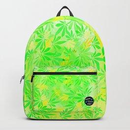 Lemon & Lime Cannabis Swirl Backpack