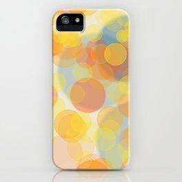 Sunny bubbles iPhone Case