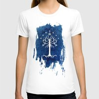 gondor T-shirts featuring The White Tree by Jackie Sullivan