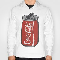 coke Hoodies featuring COKE 4EVR by Josh LaFayette