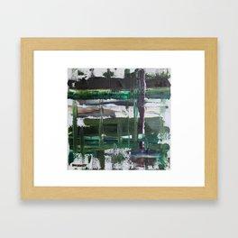 Dreary Day Framed Art Print