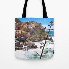 We're All Here Tote Bag