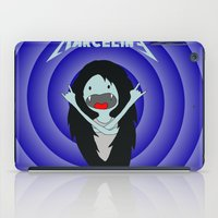 marceline iPad Cases featuring Metal Marceline by totemxtotem